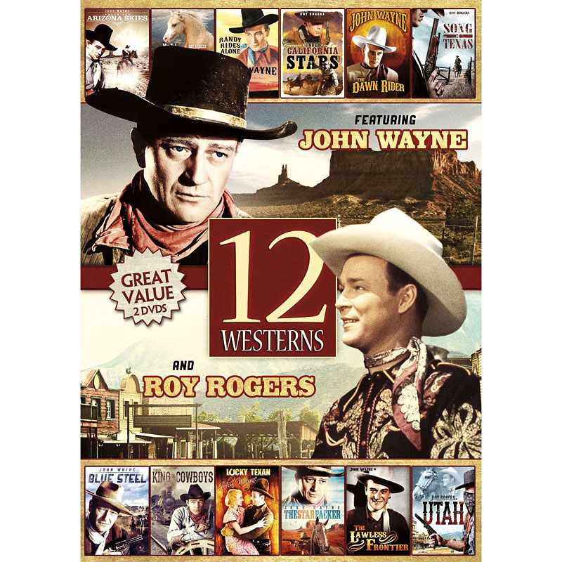 12-Movie Westerns - DVD