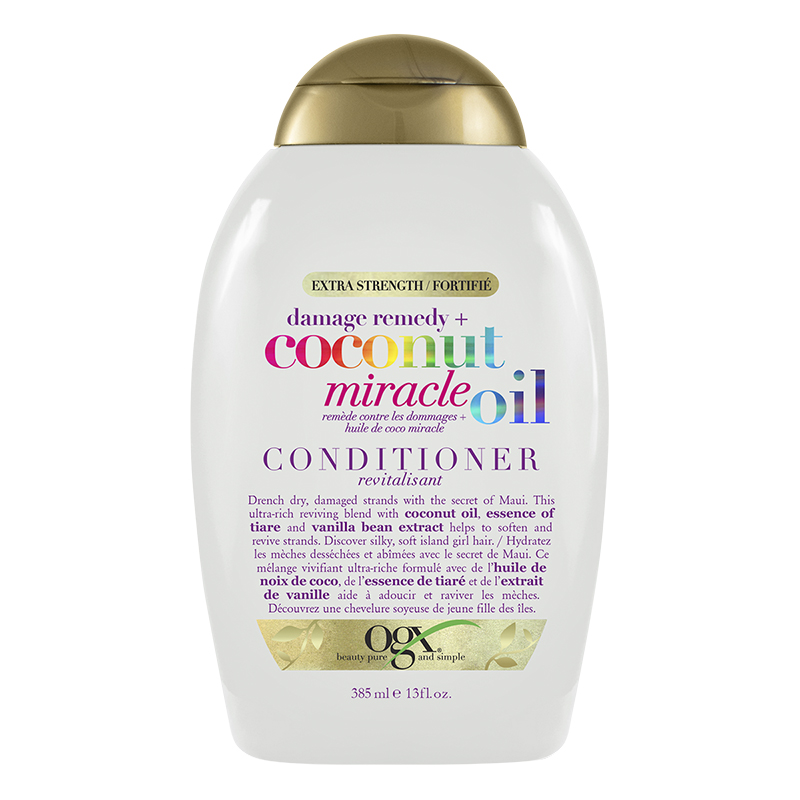 OGX Damage Remedy Coconut Miracle Oil Conditioner - 385ml