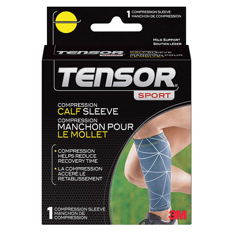 Tensor Sport Compression Calf Sleeve