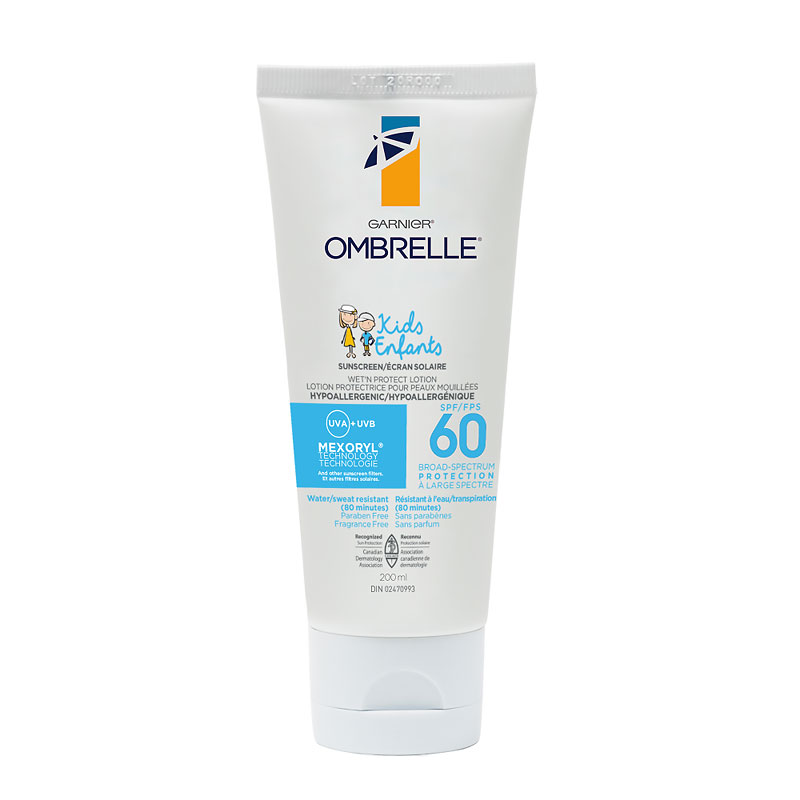 Ombrelle Kids Wet'N Protect Sunscreen Lotion - SPF 60 - 200ml