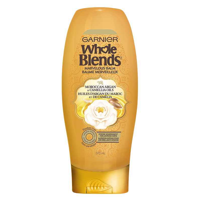 Garnier Whole Blends Marvelous Balm - Moroccan Argan & Camellia Oils - 370ml