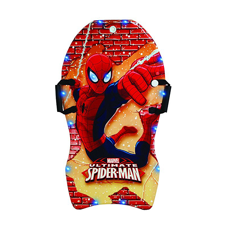 Marvel Spiderman LED Snowboard for Kids