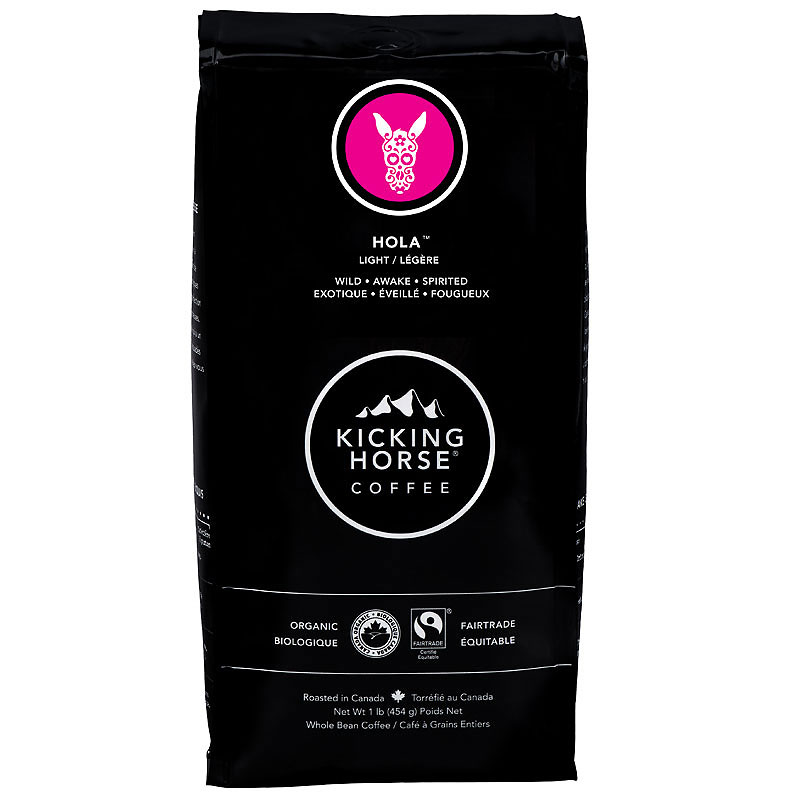 Kicking Horse Coffee Hola™ - Light Roast - Whole Bean - 454g
