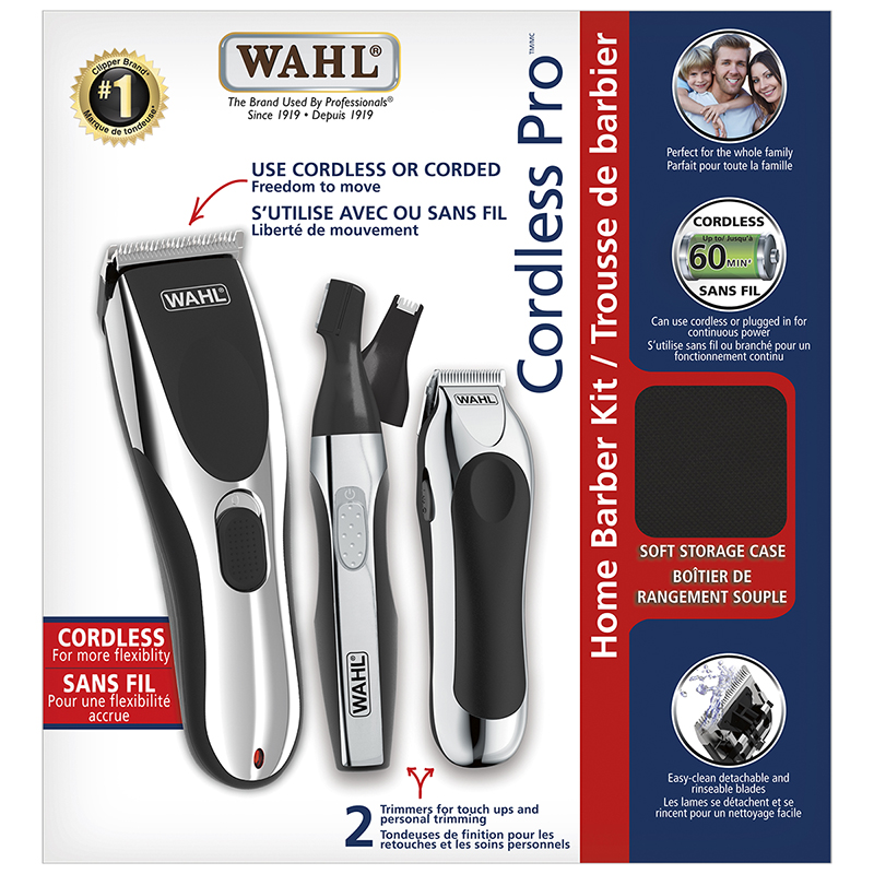 Wahl Cordless Pro Home Barber Kit - 3155