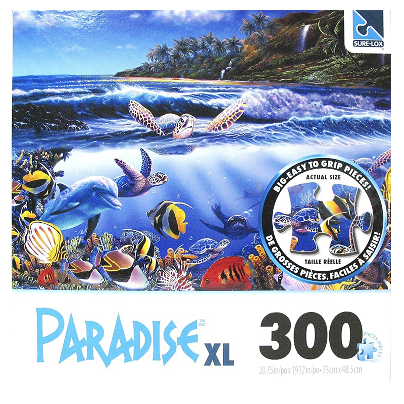 Tropical Puzzles - 300 piece - Assorted