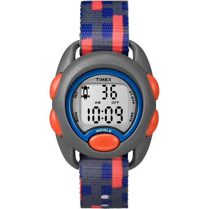 Timex Kids Digital Watch - Grey/Orange - TW7C129002Y