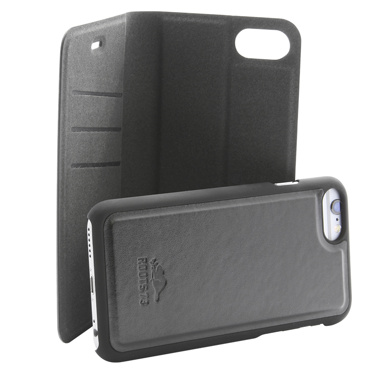 Roots 3-in-1 Folio Case for iPhone 6 Plus/7 Plus - Black - RFIP76PB