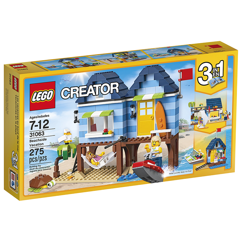 LEGO® Creator 3in1 - Beachside Vacation