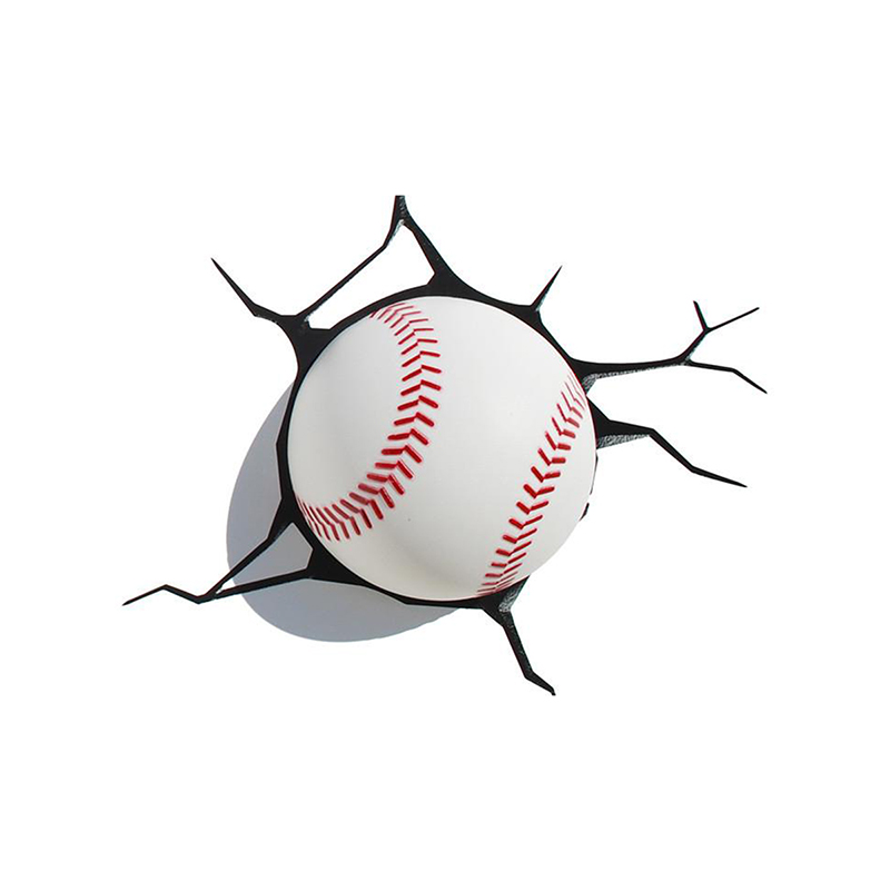 3D Deco Light - Baseball - 84648