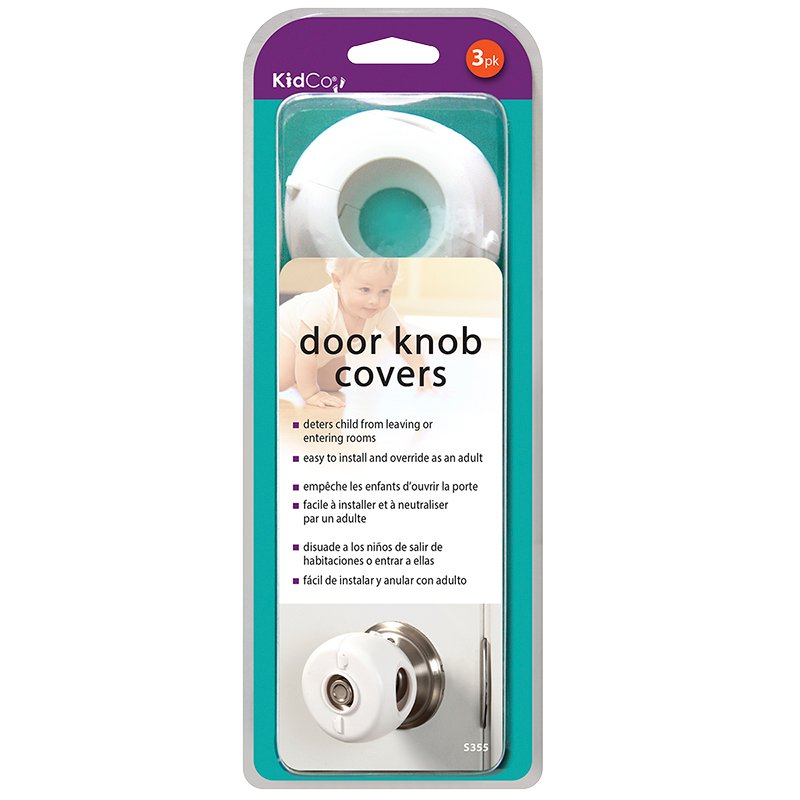 KidCo Door Knob Covers - 3 pack - S355