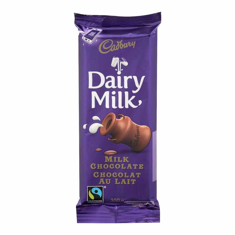Cadbury Bar - Dairy Milk - 100g