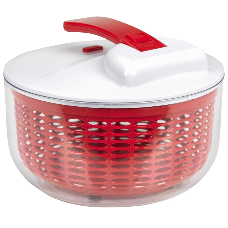 London Drugs Salad Spinner - Red - 26 x 19cm