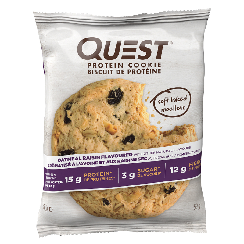Quest Protein Cookie - Oatmeal Raisin - 59g