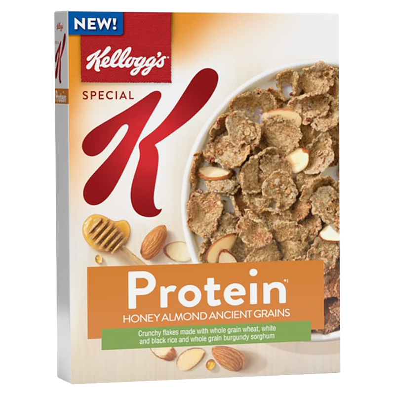 Kelloggs Special K Protein Cereal - Honey Almond Ancient ...