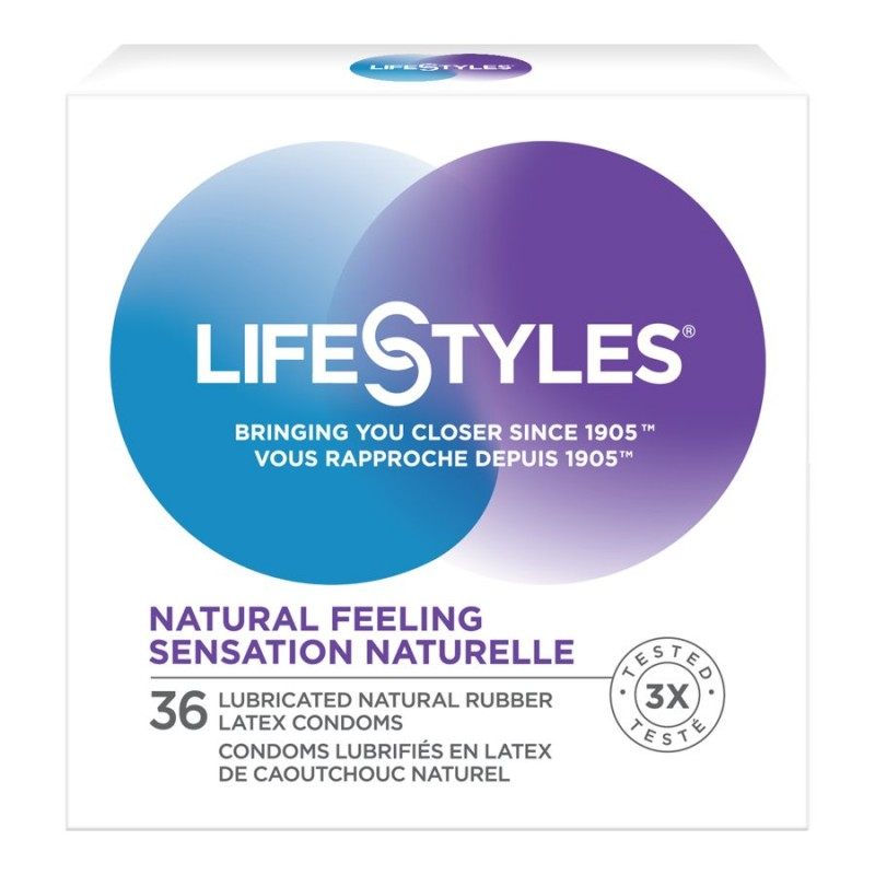 LifeStyles Natural Feeling Condoms - 36's