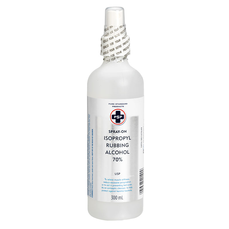 PSP Isopropyl Rubbing Alcohol Spray-On 70% - 300ml