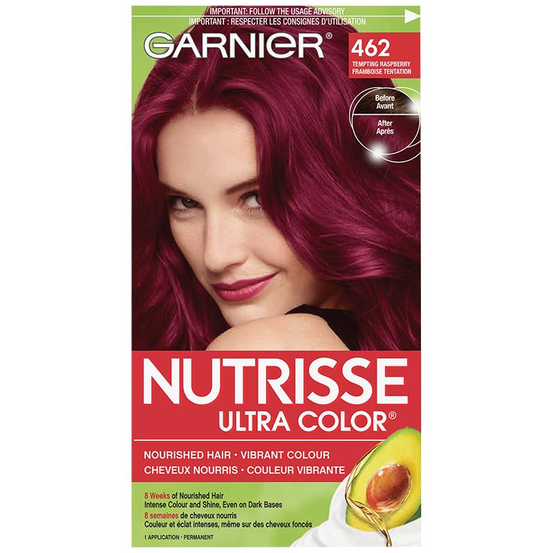 Garnier Nutrisse Ultra Color Permanent Hair Colour 462 Tempting