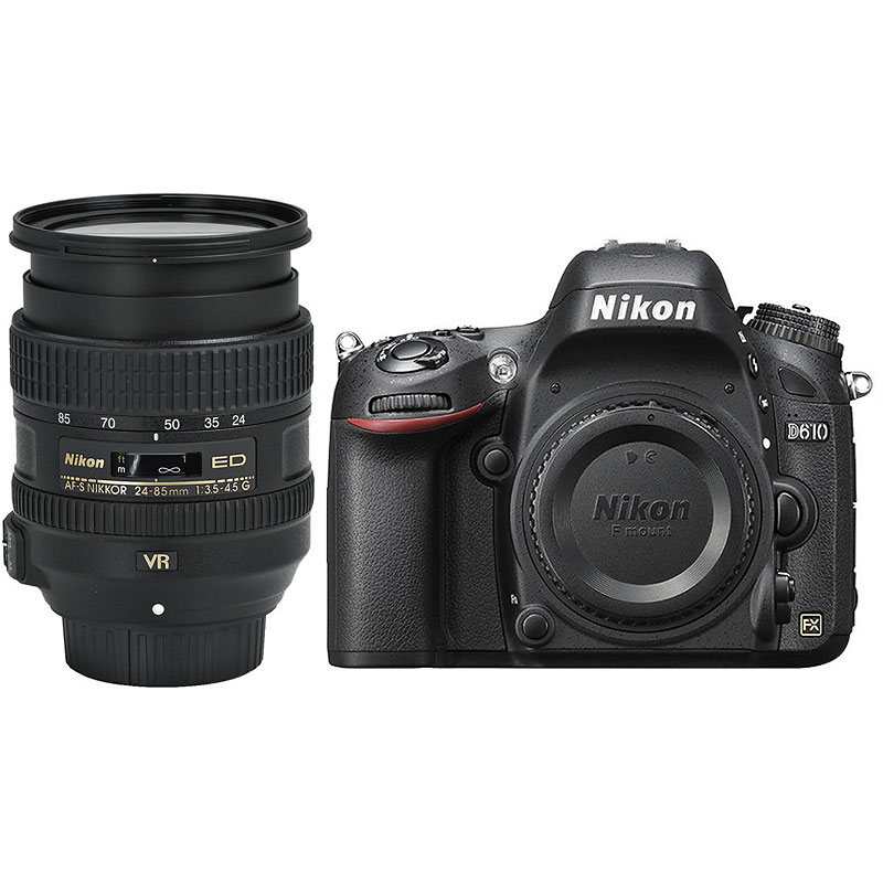 Nikon D610 FX with 24-85mm VR Lens - Open Box Display Model