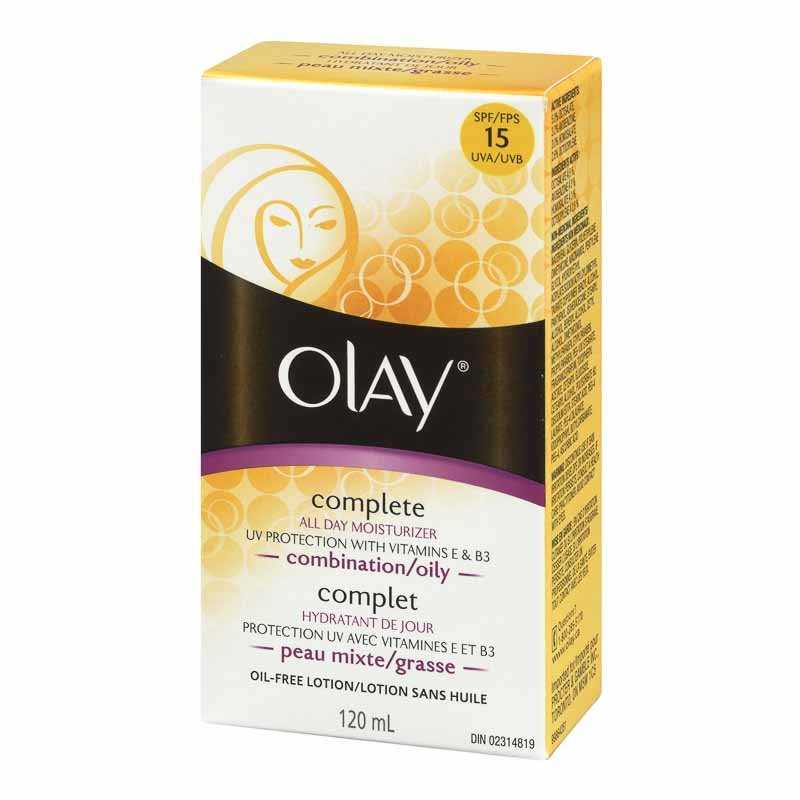 Olay Complete All Day Care Daily UV Protection Moisturizing Lotion - Combination/Oily Skin - 120ml