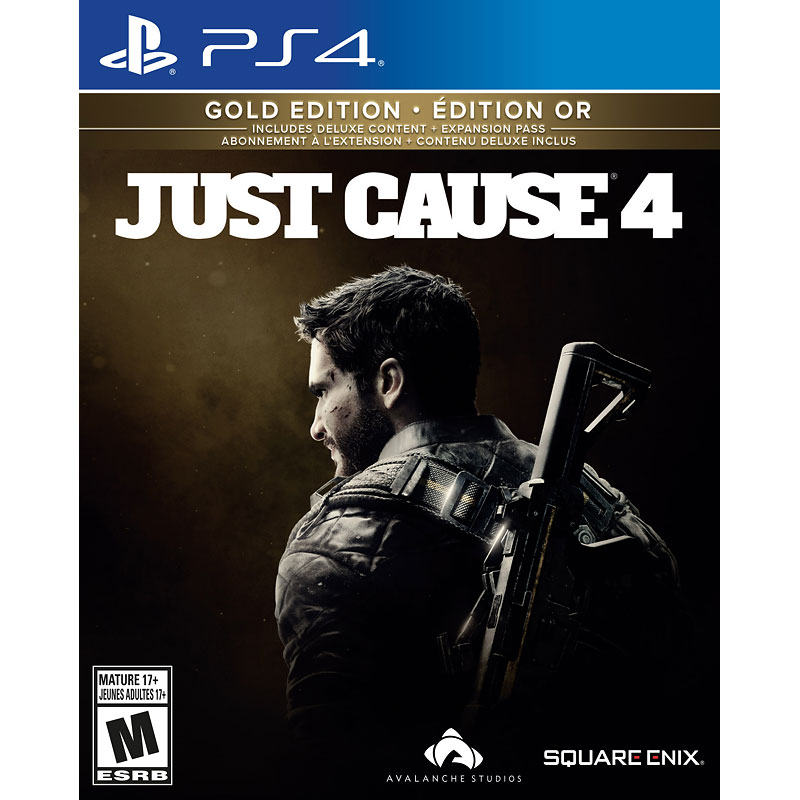 PRE ORDER: PS4 Just Cause 4 - Gold Edition