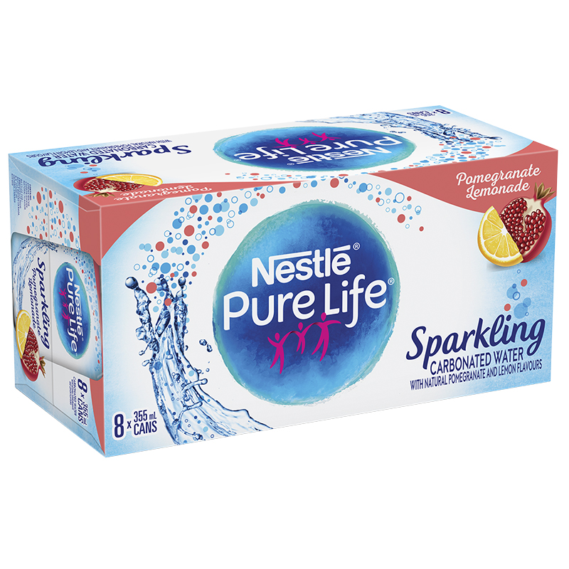 Nestle Sparkling Water - Pomegranate Lemonade - 8x355ml
