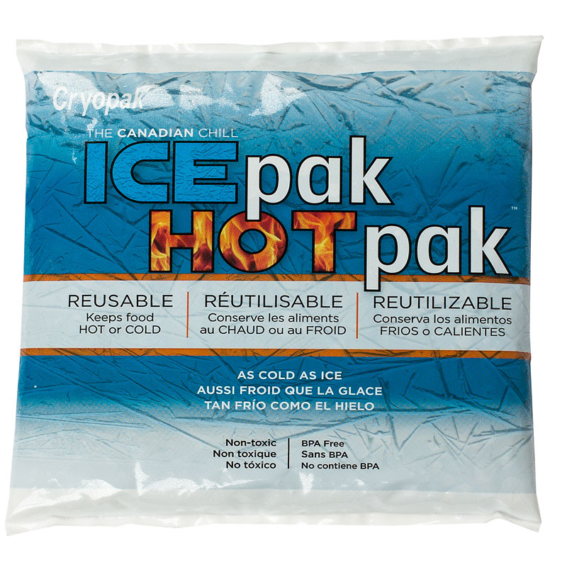 Ice Pak/Hot Pak Gel Pack - 8oz