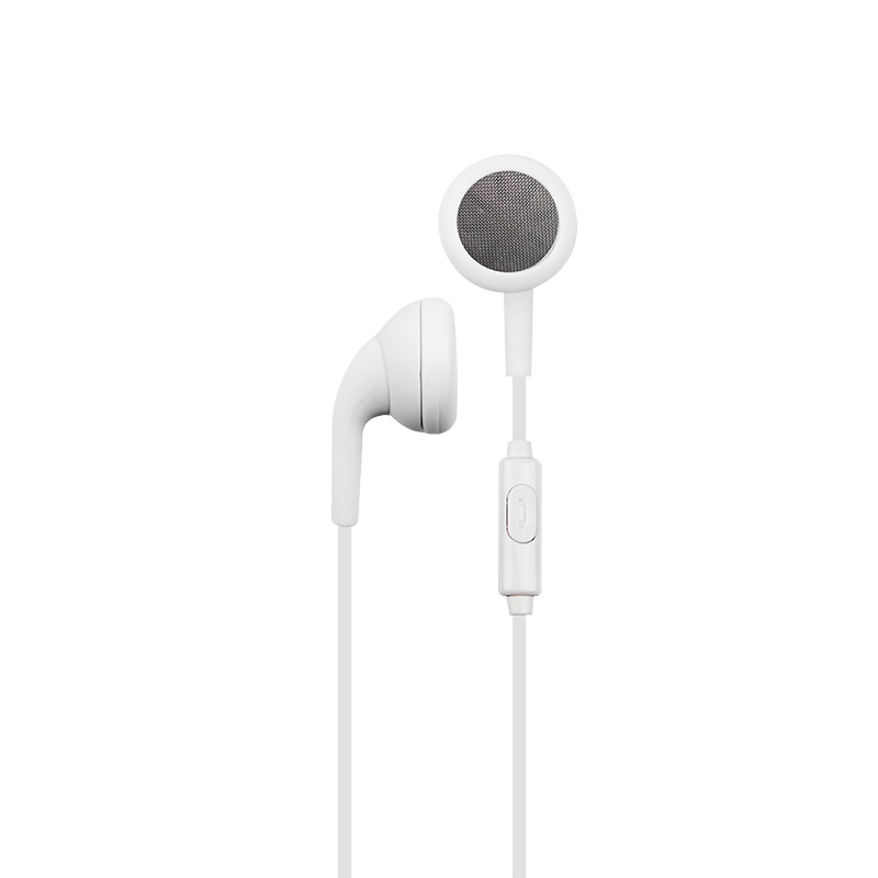 Furo Minor Flat Earbuds - White - FT12730