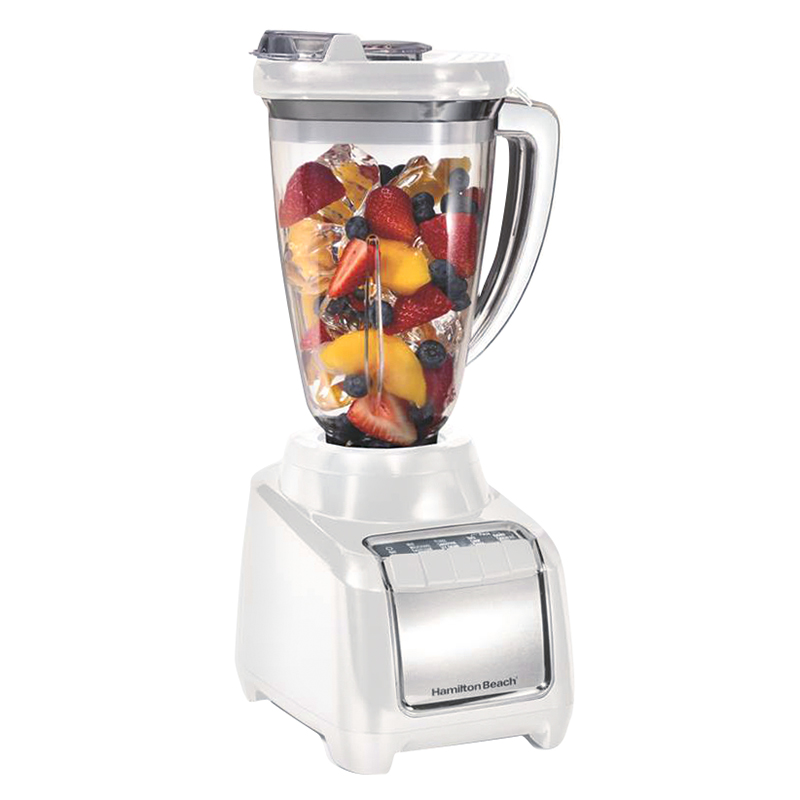 Hamilton Beach Multiblend Blender - White/Stainless - 53523C