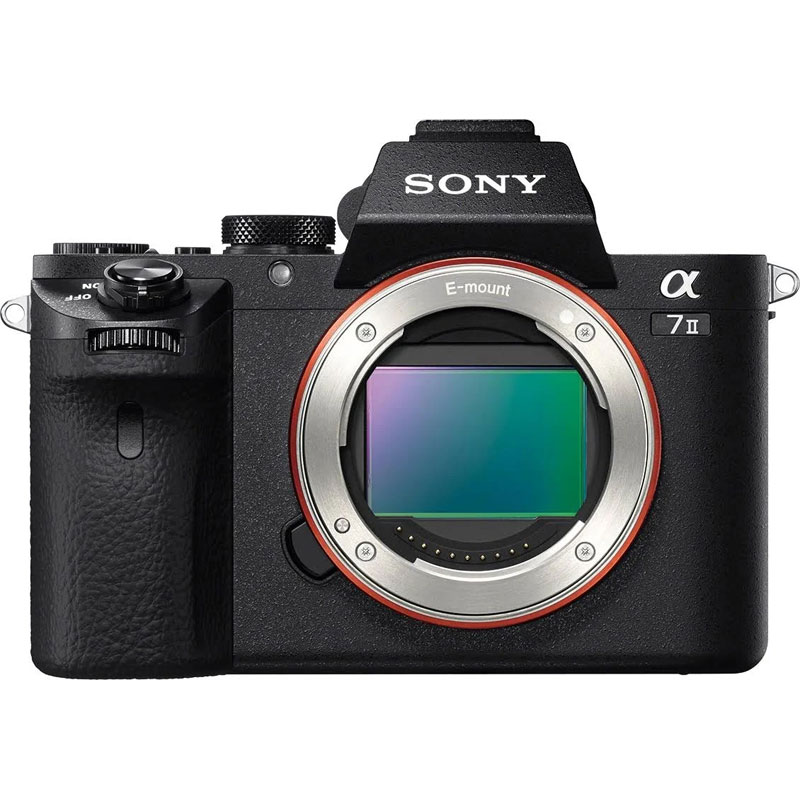 Sony Alpha A7 II Body - Black - ILCE7M2