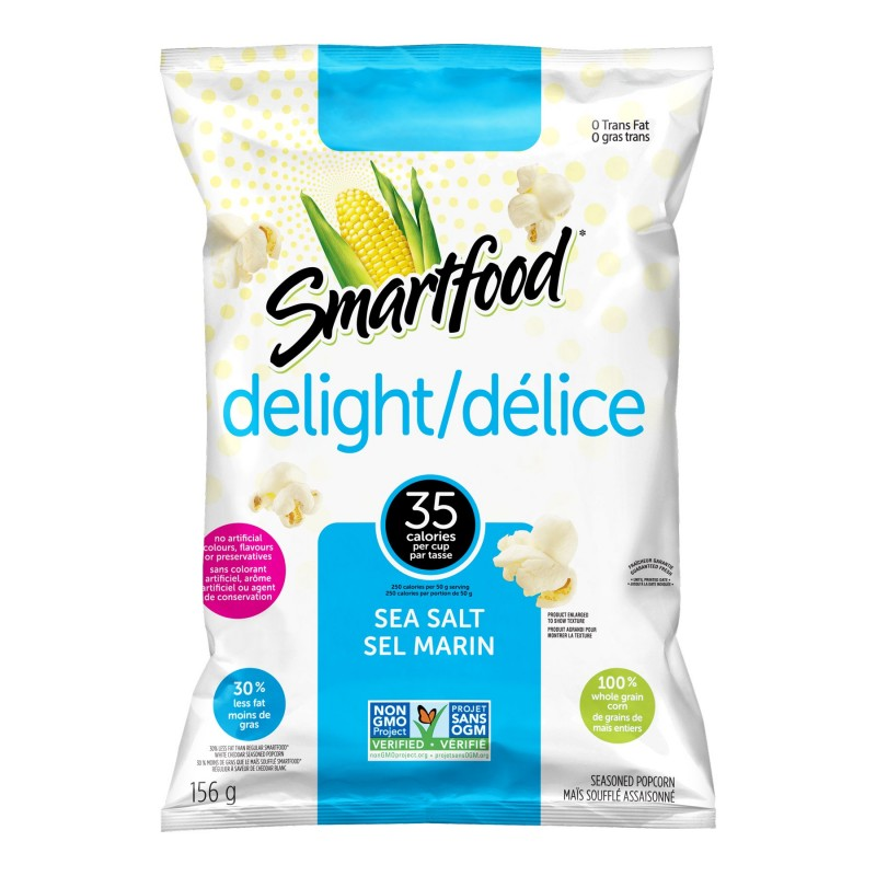 Smartfood Delight - Sea Salt - 156g