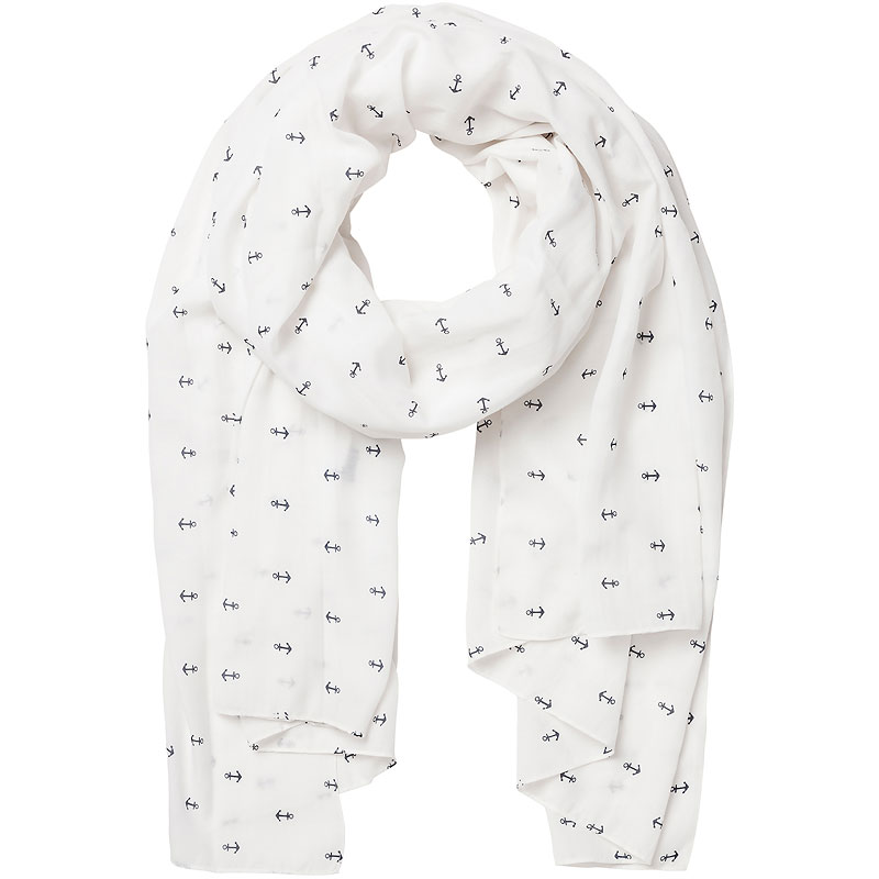Vero Moda Mini Palm Long Scarf - Assorted