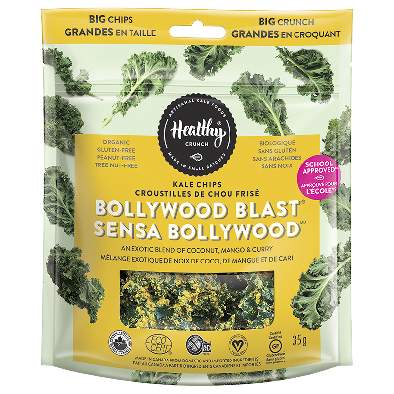Healthy Crunch Kale Chips - Bollywood Blast - 35g