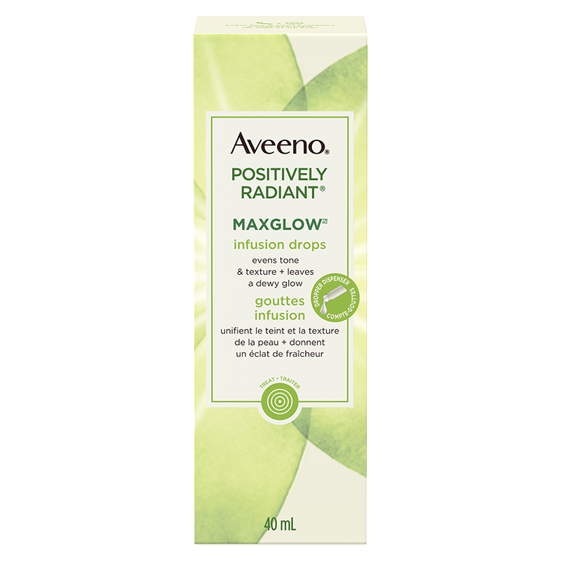 Aveeno Positively Radiant Maxglow Infusion Drops - 40ml