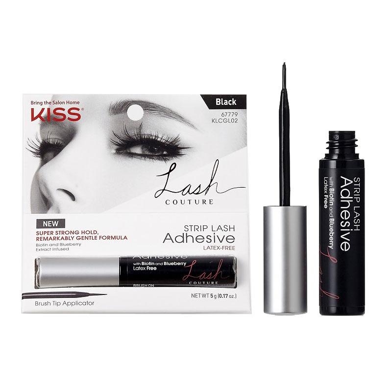 25f8e207080 Kiss Lash Couture Strip Lash Adhesive - 02 Black | London Drugs