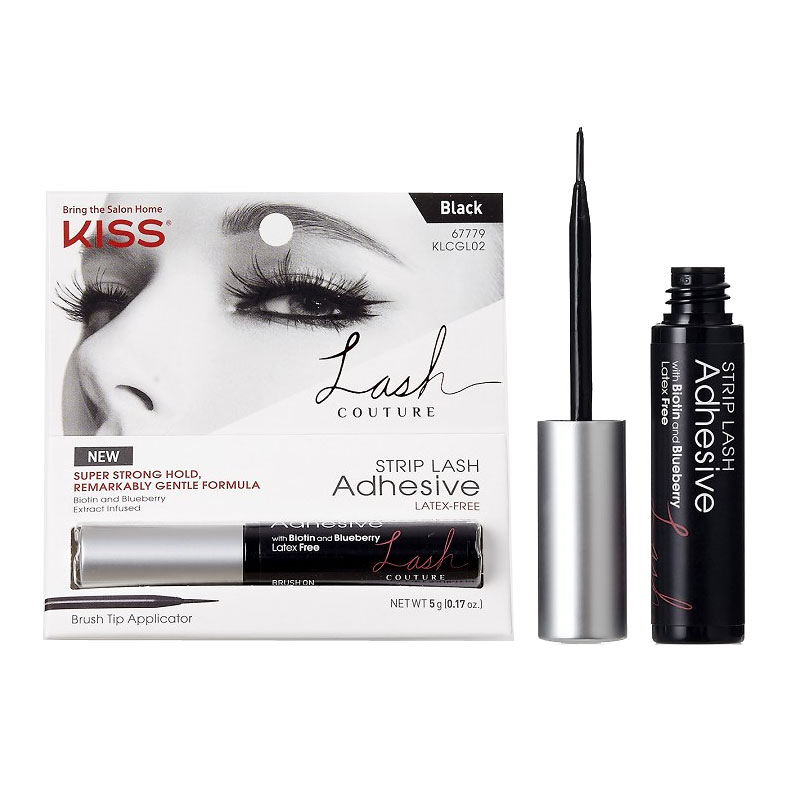 9551c63ab5c Kiss Lash Couture Strip Lash Adhesive - 02 Black | London Drugs