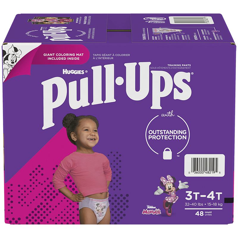 Huggies Pull-Ups Training Pants - 3T-4T - Learn