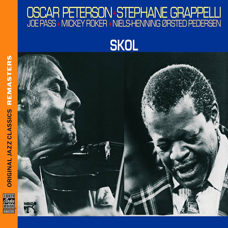 Oscar Peterson & Stephane Grappelli - Skol - Original Recording Remastered) - CD