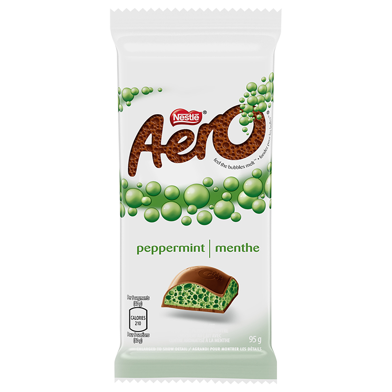 Nestle Aero Bar - 70% Dark Mint - 95g