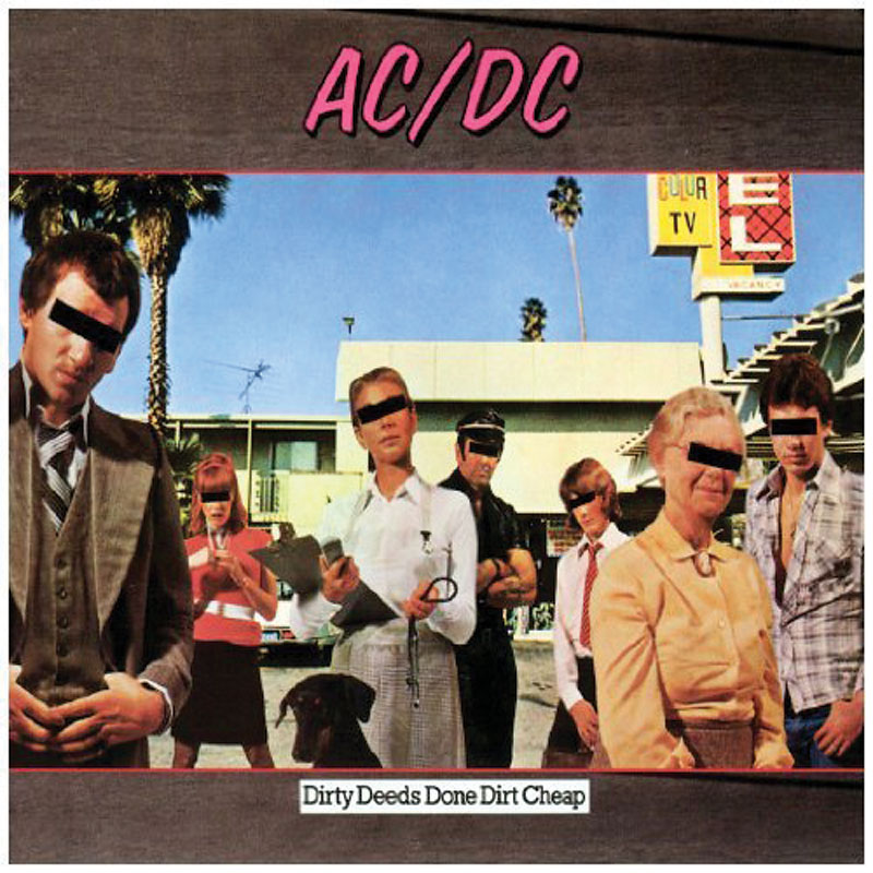 AC/DC - Dirty Deeds Done Dirt Cheap - Vinyl