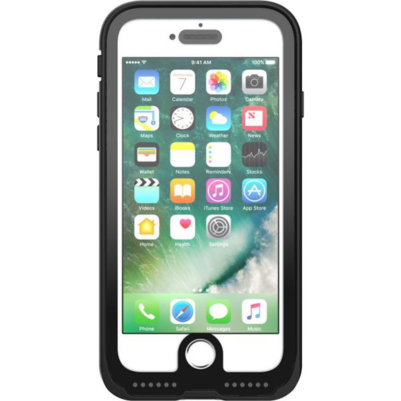 reputable site 42c7c d0229 Pelican Marine Case for iPhone 7 - Black/Clear - PNIP7MARBK/CL