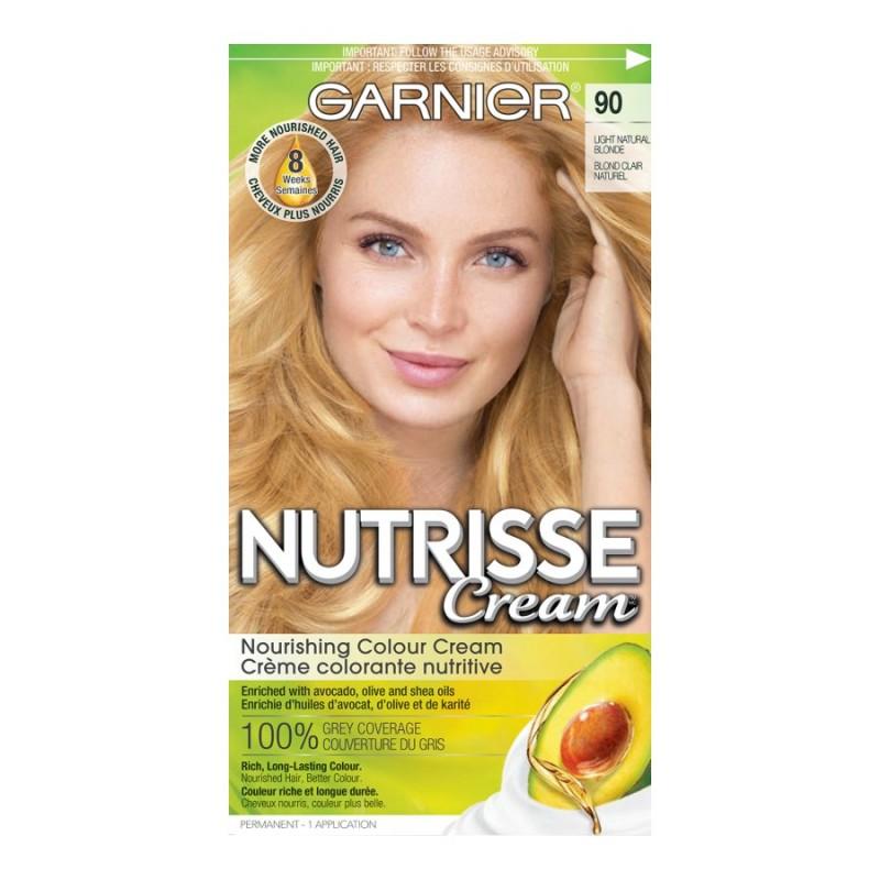 Garnier Nutrisse Cream Permanent Hair Colour 90 Light Natural