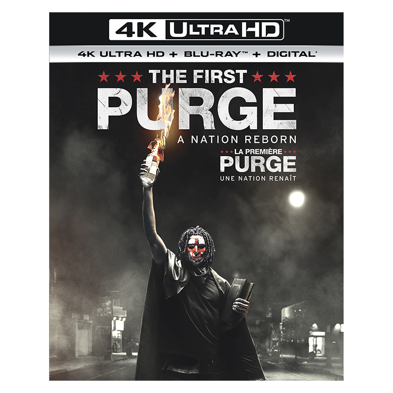 The First Purge - 4K UHD Blu-ray