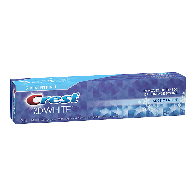 Crest 3D White Toothpaste - Arctic Fresh - 135ml