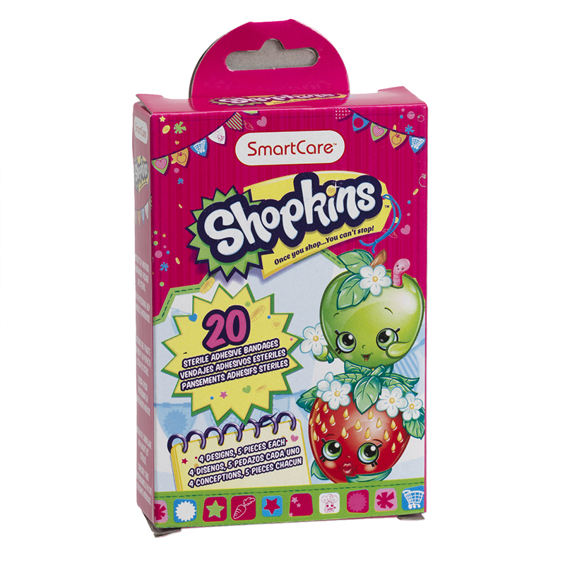 Smartcare Shopkins Bandages - 20's