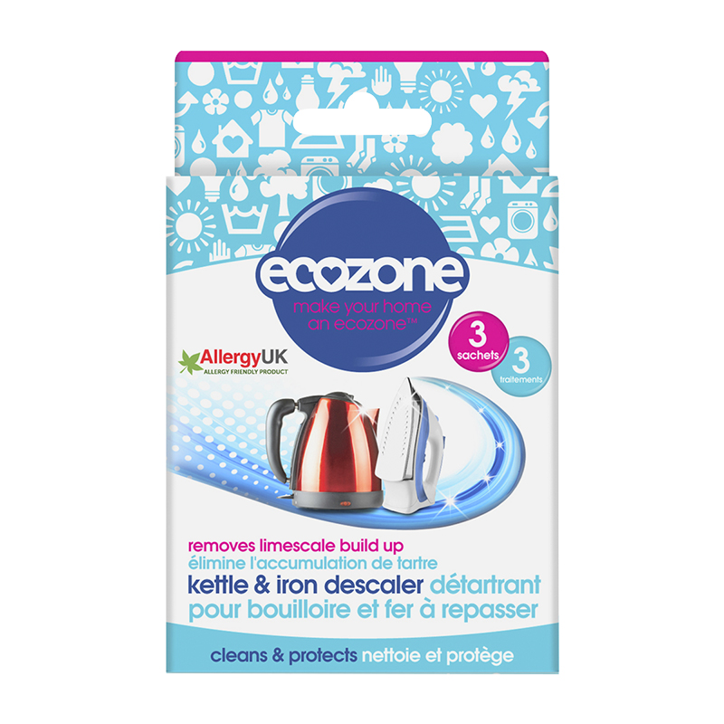 Ecozone Kettle and Iron Descaler - 3's