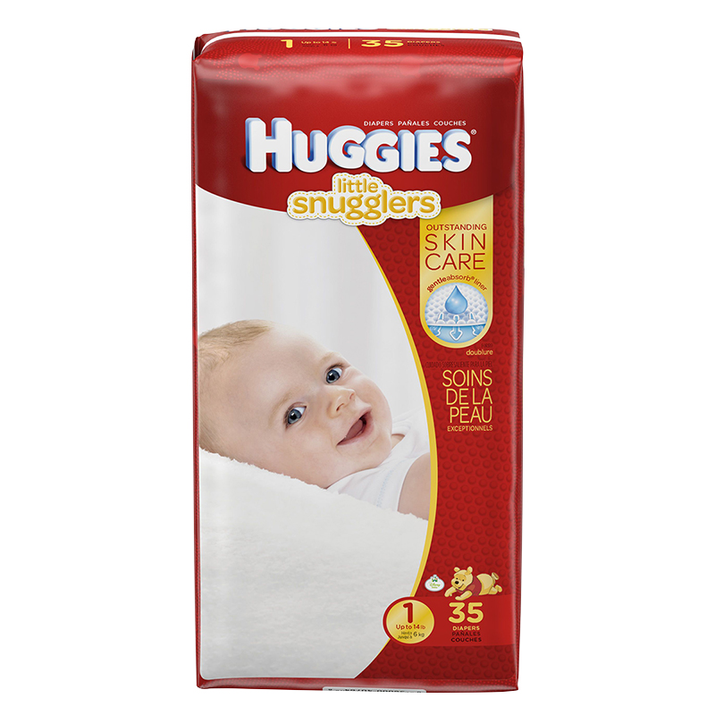 Huggies Little Snugglers Disposable Diaper - Size 1 - 35's