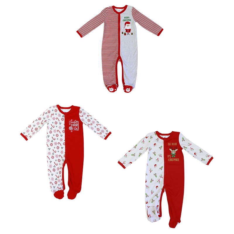 Baby Mode Christmas Coverall - 0-9 months - Assorted
