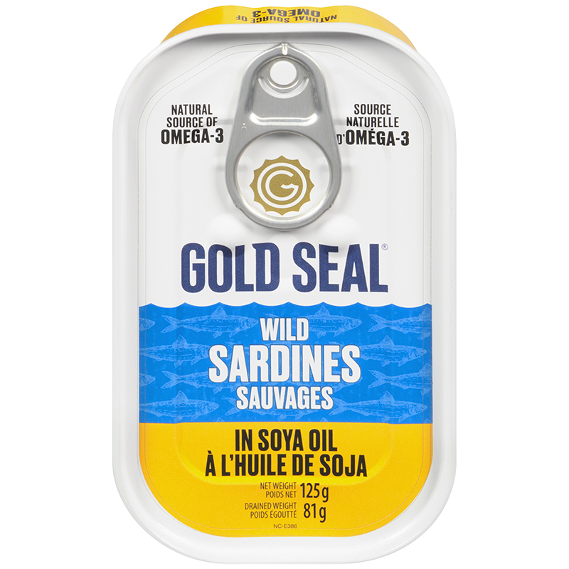 Gold Seal Sardines - Soya Oil - 125g