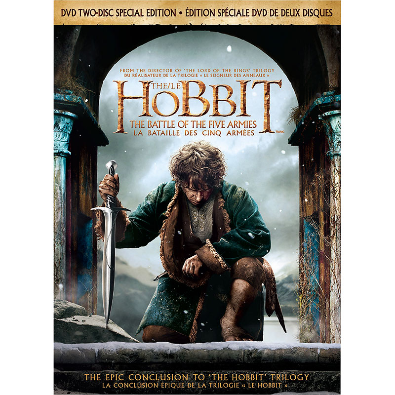 The Hobbit: The Battle of the Five Armies 2 Disc Special Edition - DVD