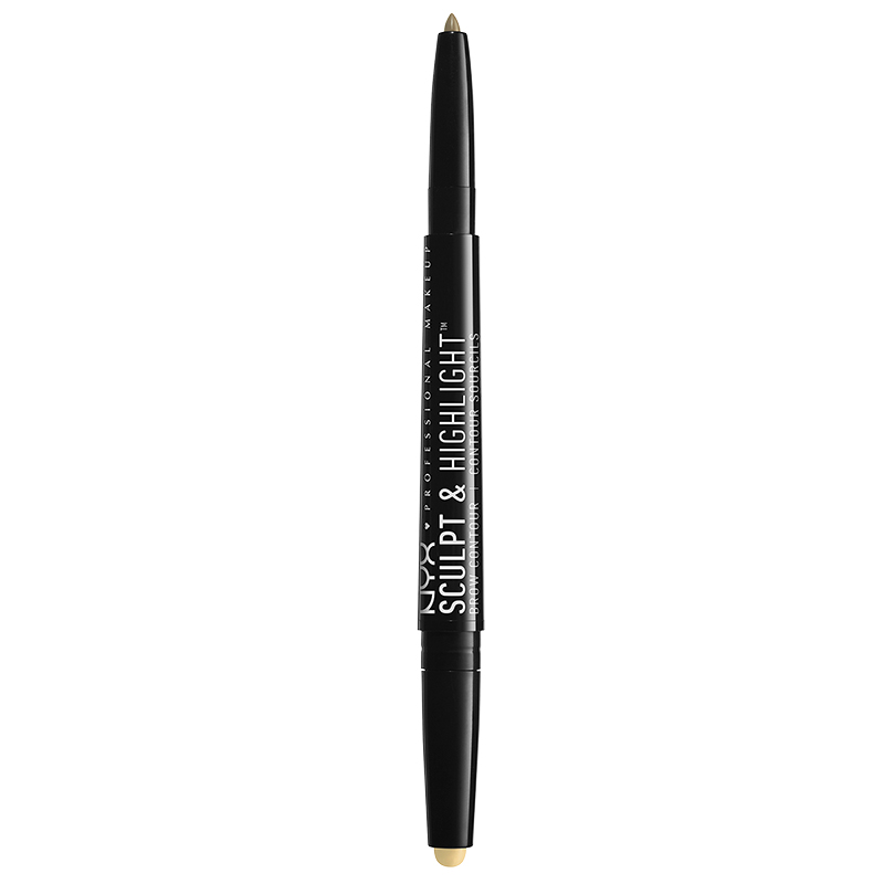 NYX Professional Makeup Sculpt & Highlight Brow Contour -Blonde and Ivory